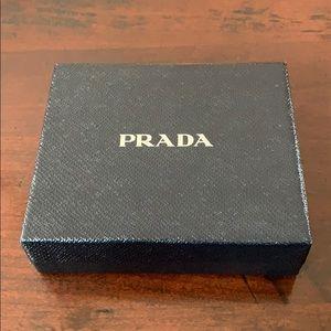Prada men's wallet storage box